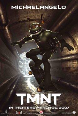 TMNT - Michaelangelo Poster