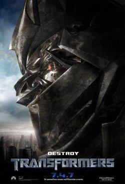 Transformers Poster - Megatron
