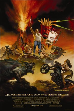 Aqua teen Hunger Force Movie Poster