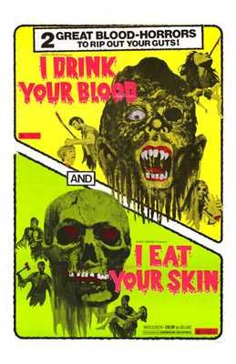 I Drink Your Blood / I Eat Your Skin Poster
