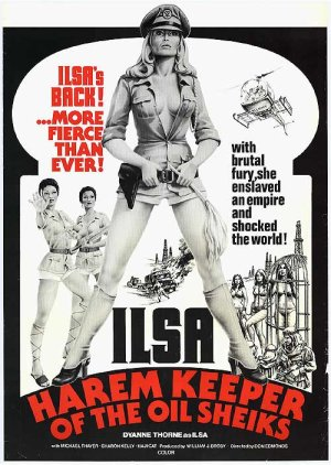 Ilsa Harem Keeper of the Oil Sheiks Poster