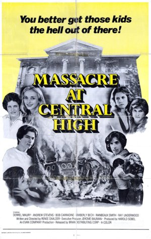 Massacre at central High Poster