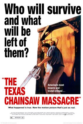 The Texas Chainsaw Massacre Poster (1974)