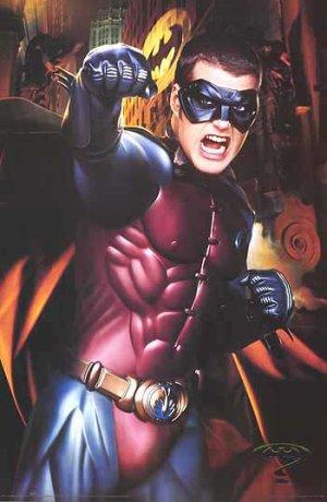 Batman Forever Ronin Poster