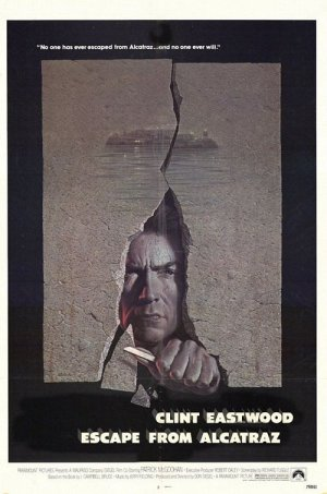 escape from Alcatraz Movie Poster