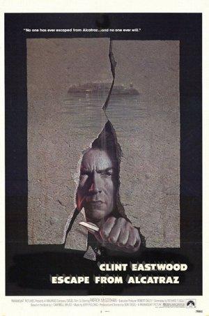 escape from Alcatraz Movie Poster