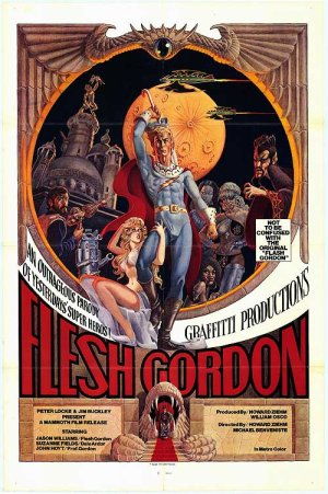 Flesh Gordon Poster