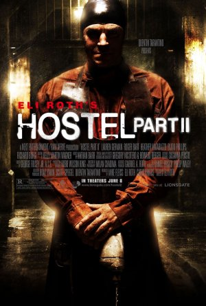 Hostel 2 Scary Man Poster