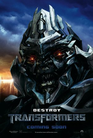Megatron Character Poster