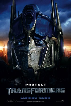 Optimus Character Poster