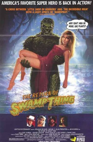 Return of the Swamp Thing Movie Poster