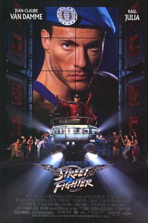 Street Fighter Movie Poster