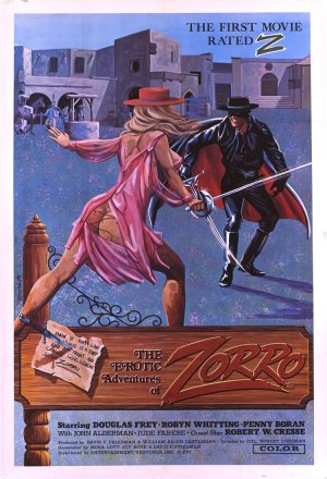 The Erotic Adventures of Zorro Poster
