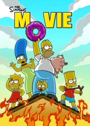 New The Simpsons Movie Poster