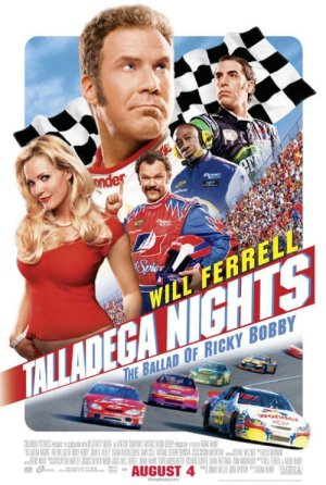 Talladegga Nights Poster