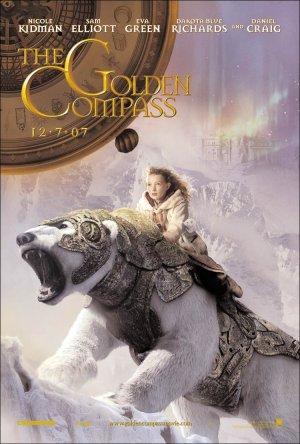 The Golden Compass Poster - Dakota Blue