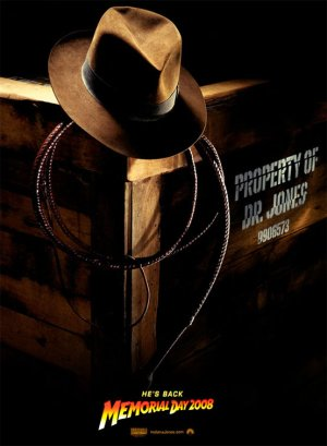 First Indiana Jones IV Teaser Poster