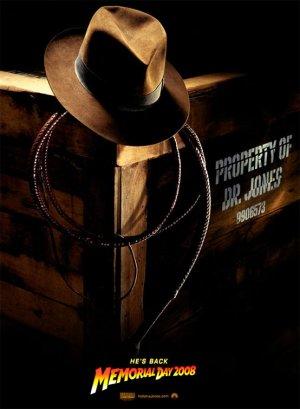 First Indiana Jones IV Teaser Poster
