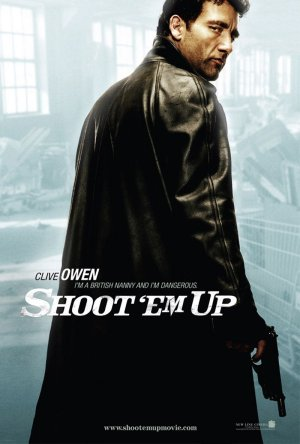 Shoot Em' Up Character Posters (Clive Owen)
