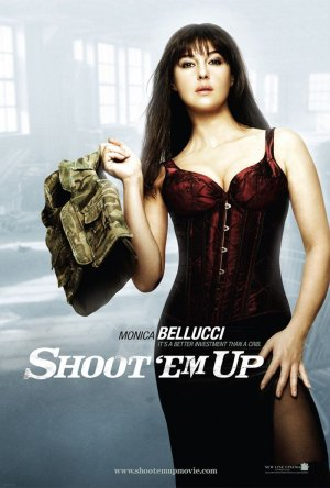 Shoot Em' Up Character Posters (Monica Bellucci)