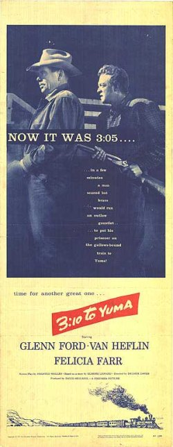 Original 3:10 to Yuma Poster (1957)