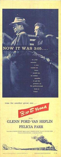 Original 3:10 to Yuma Poster (1957)