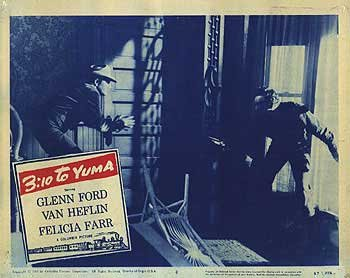 Original 3:10 to Yuma Poster 2 (1957)