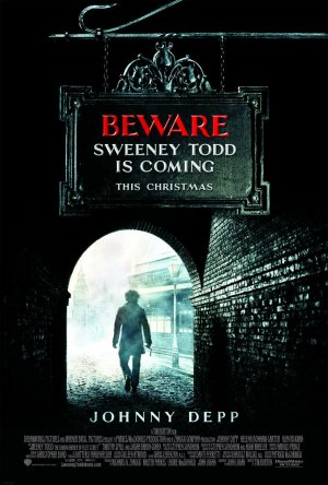 Second Sweeney Todd Movie Poster