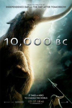 10,000 BC Poster