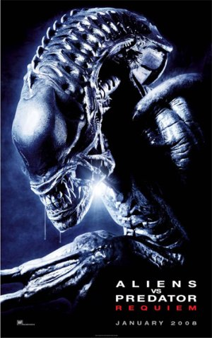International Alien Vs. Predator: Requiem Character Poster 2
