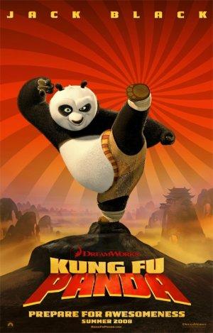 First Kung-Fu Panda Poster