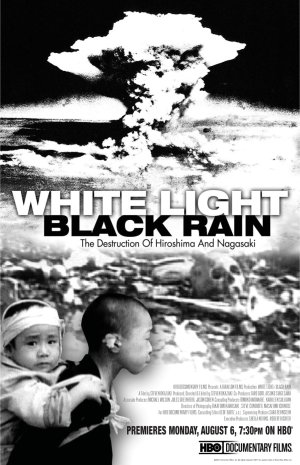 White Light Black Rain Poster