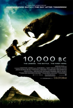 Second 10,000 BC Poster