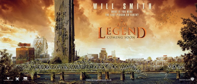 I Am Legend Movie Poster I Am Legend Banners | ...