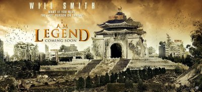 I Am Legend Banners Taipei