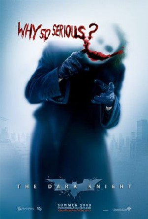 The Dark Knight Movie Poster - Why So Serious Edition
