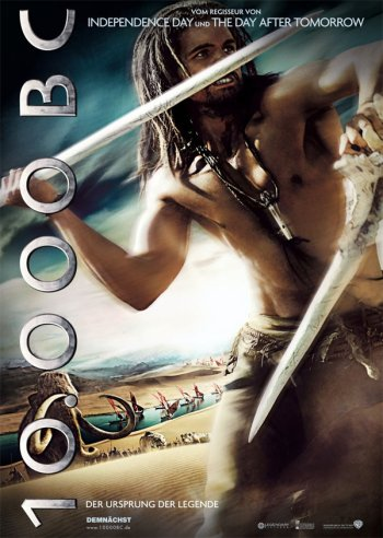 International 10,000 BC Poster 1