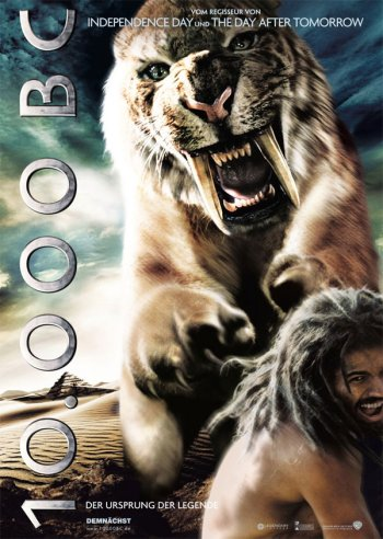 International 10,000 BC Poster 4