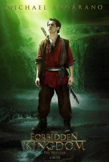 Forbidden kingdom Character Poster (Mangarano)