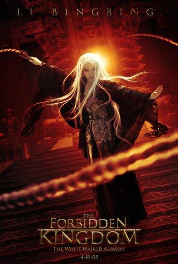 Forbidden kingdom Character Poster (Li Bingbing)