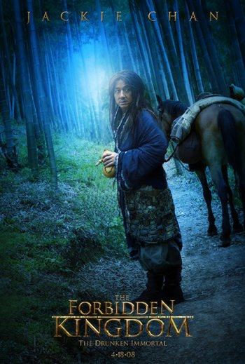 Forbidden kingdom Character Poster (Jackie Chan)
