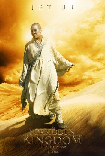 Forbidden kingdom Character Poster (Jet Li)