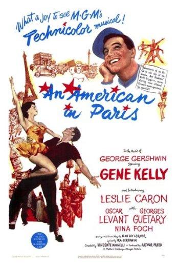 An American in Paris Poster