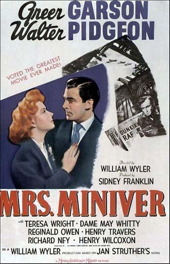 Mrs. Miniver Poster
