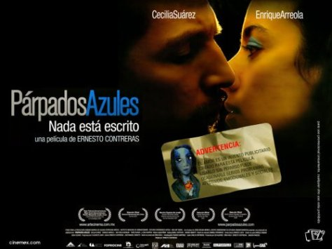 Párpados Azules Poster