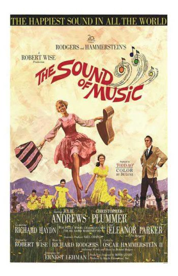 1965 - The Sound of Music Poster