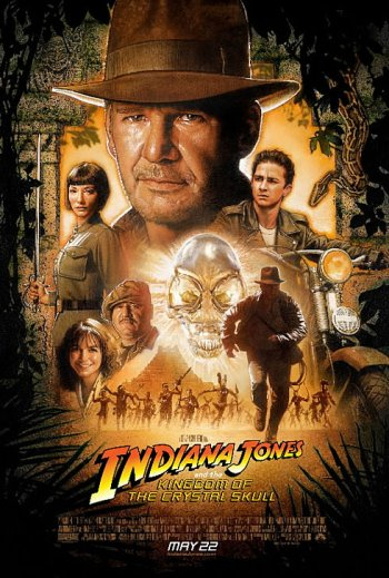 Indiana Jones and the Kingdom of the Crystal Skull Poster