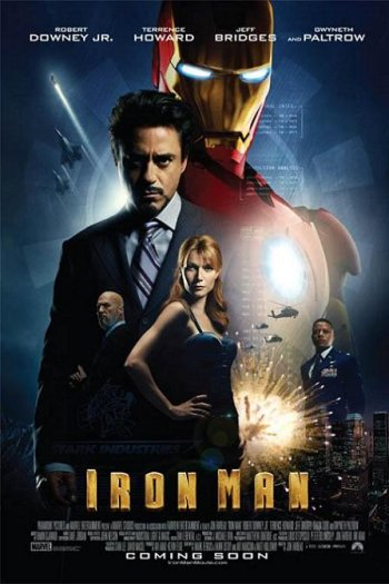 Iron Man Movie Poster International