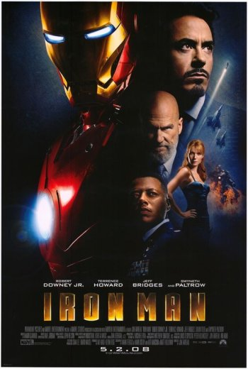 Iron Man Movie Poster Domestic