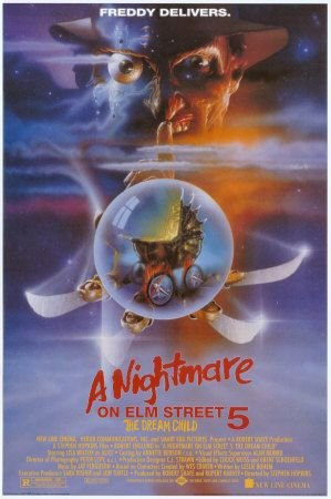 Nightmare on Elm Street 5 Poster
